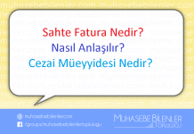 Sahte Fatura Nedir? Nasıl Anlaşılır ve Cezai Müeyyidesi Nedir?