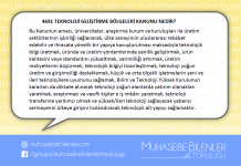 4691 Teknoloji Geliştirme Bölgeleri Kanunu Nedir?