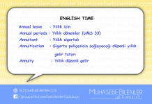 english time yillik
