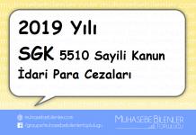 2019 yili sgk idari para cezalari