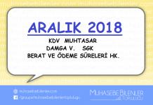 aralik 2018
